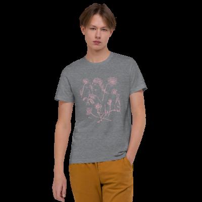Pink Wildflowers - Unisex Organic Cotton T-Shirt