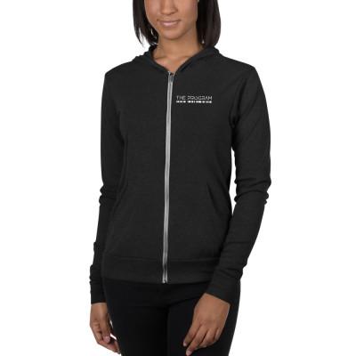 The Program unisex zip hoodie