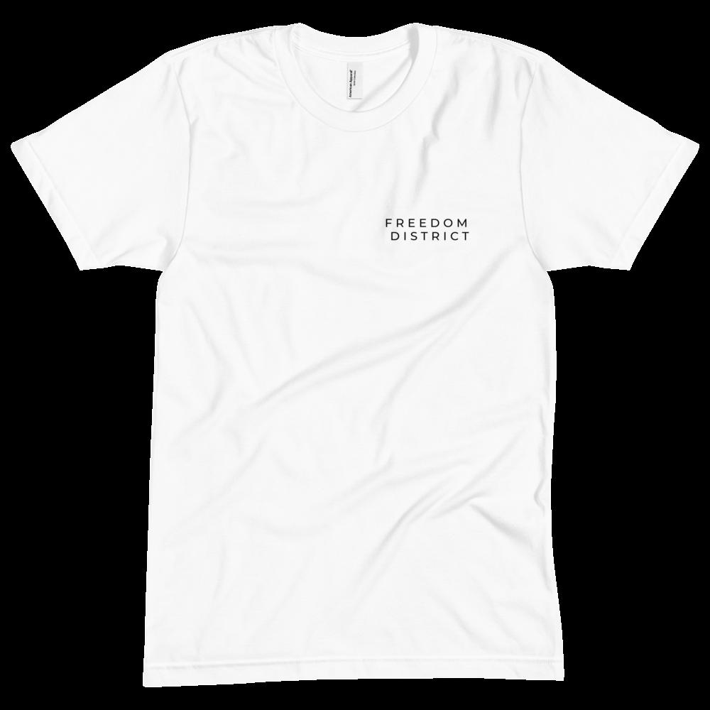 Freedom Line T-Shirt Y Women White
