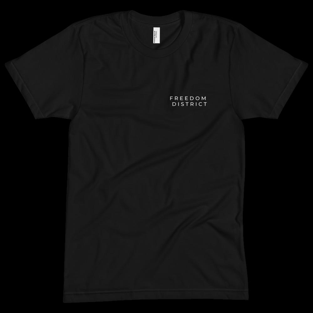Freedom Line T-Shirt Y Women Black