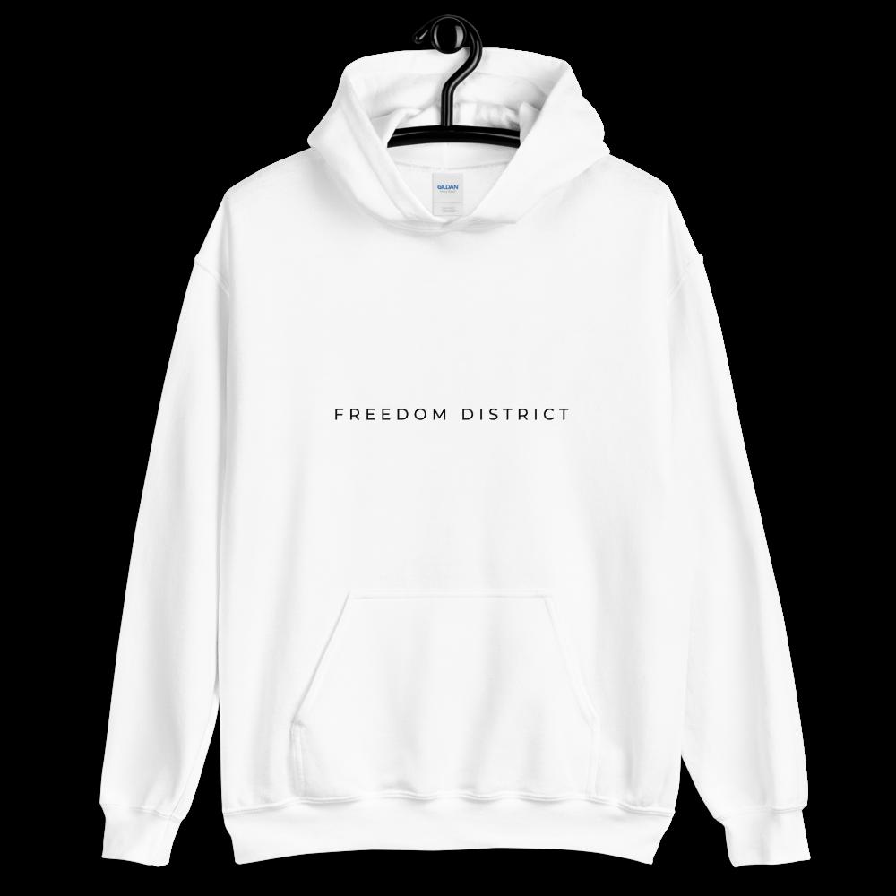 Freedom Line Hoodie X Women White