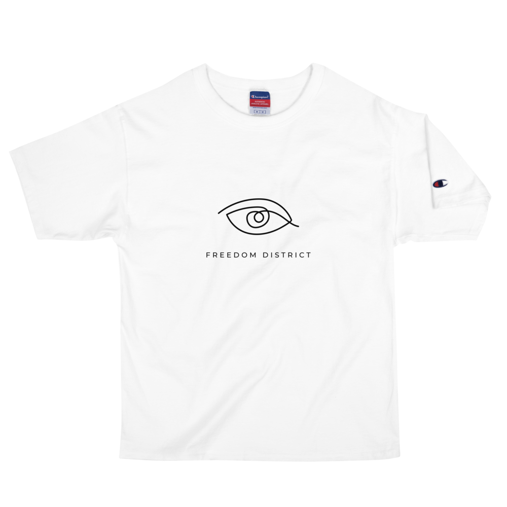 Freedom Line T-Shirt Z Men White