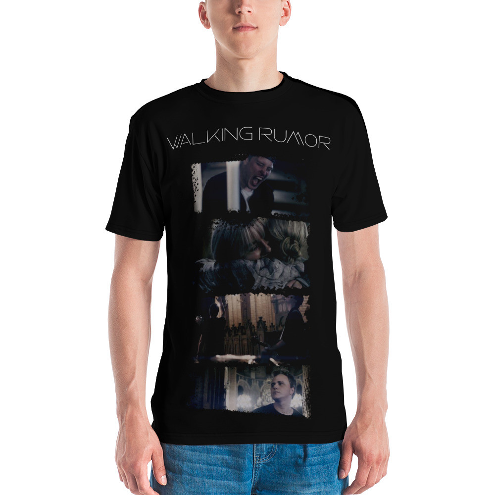 """Tears me Apart"" Celebration Tee (Black)"