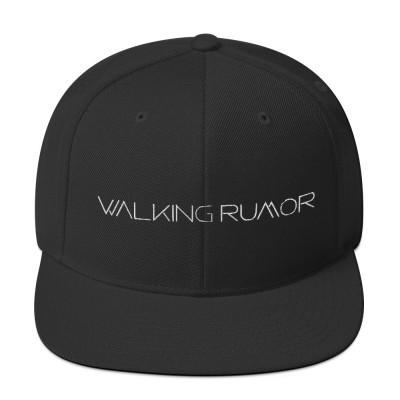 Walking Rumor Snapback Hat