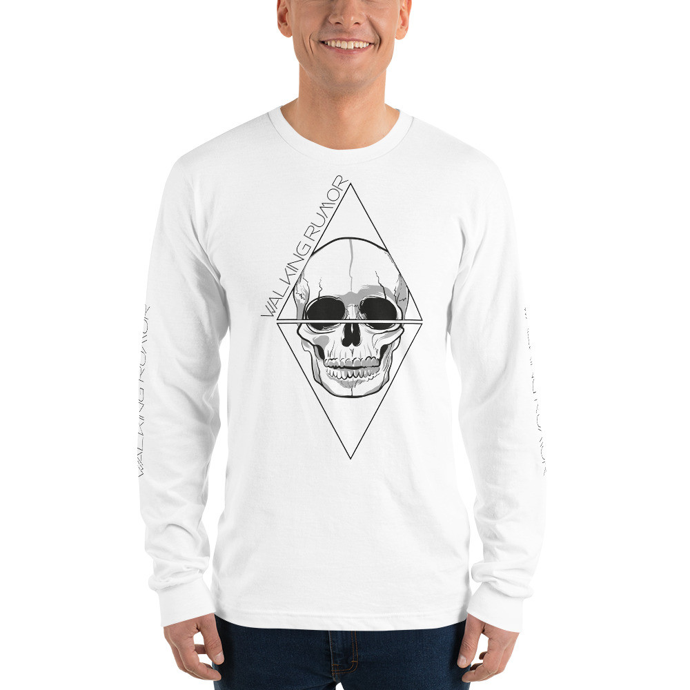 """Skull Diamond"" Long sleeve"