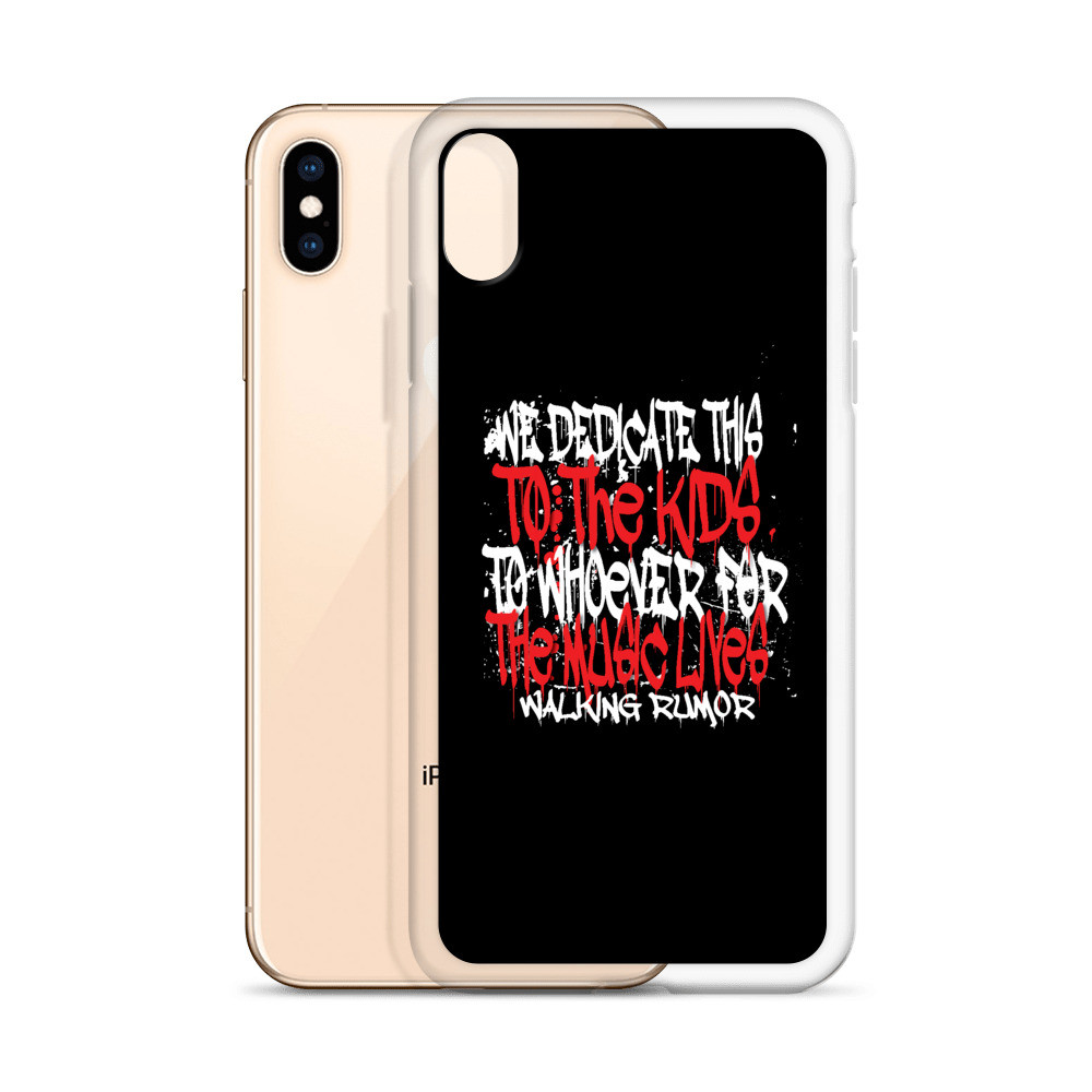"""Dedicate to This"" iPhone Phone Case"