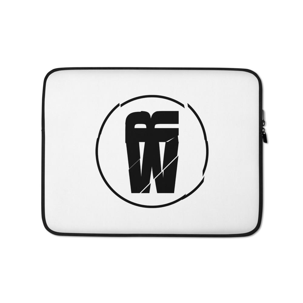 """""""Walking Rumor Logo"""" Laptop Case"""