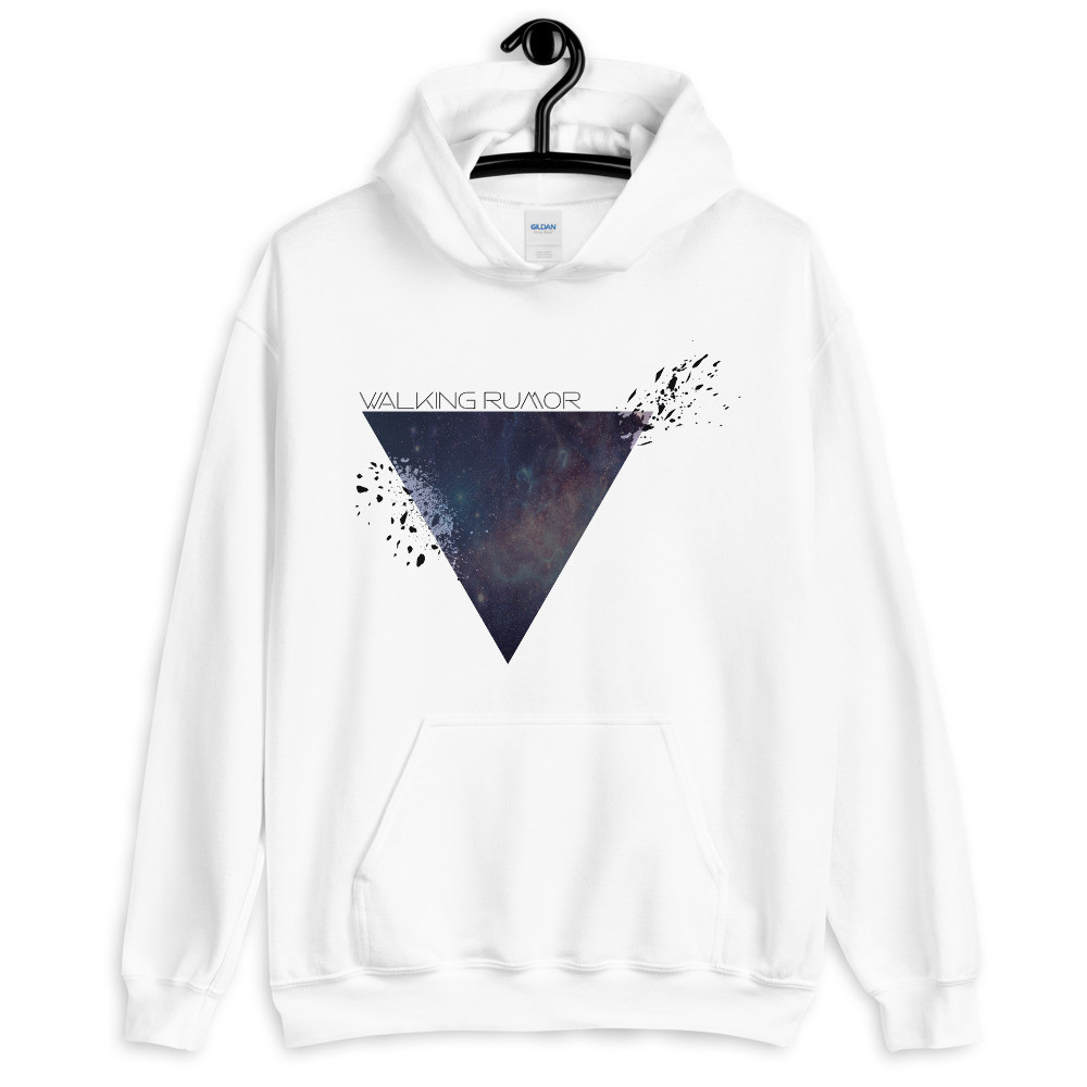"""Galaxy Triangle"" Walking Rumor Hoodie"