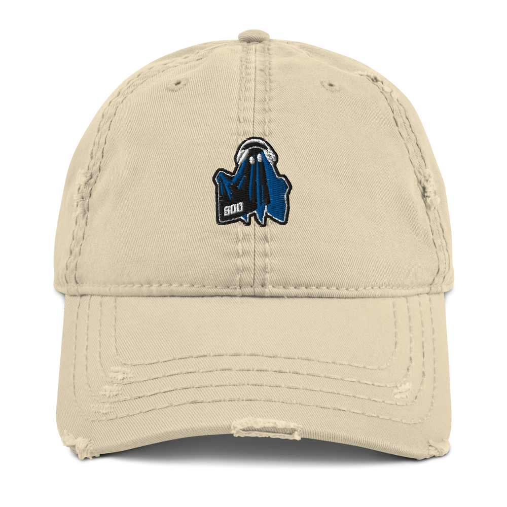 Boo Distressed Dad Hat-men