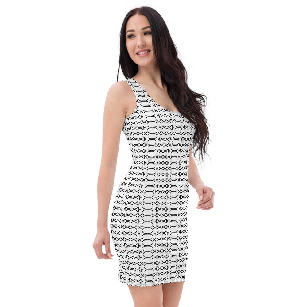 DJC Ladies Night Pattern Dress