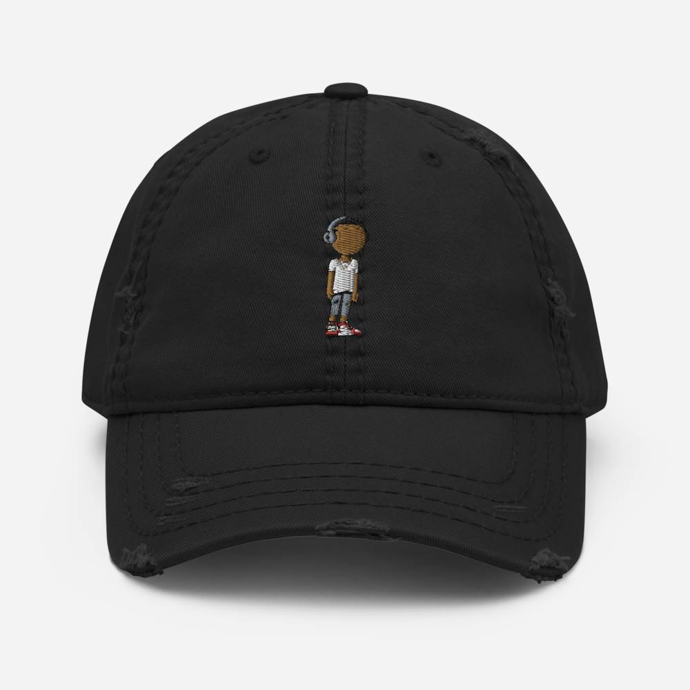 Character Distressed Dad Hat