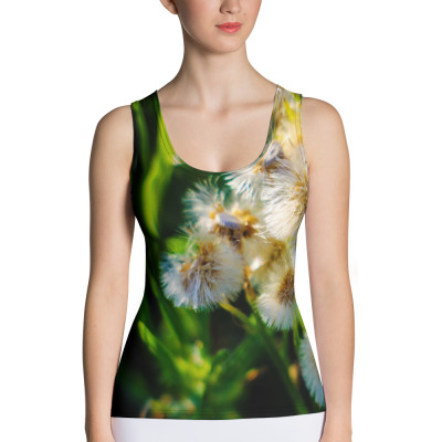 Sublimation Cut & Sew Tank Top (white)
