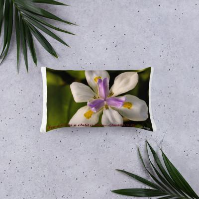 Basic Pillow (flower design)