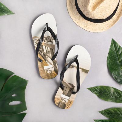 Flip-Flops (Text: Urunga Boardwalk,NSW)