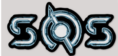 SOS Machines Logo Sticker