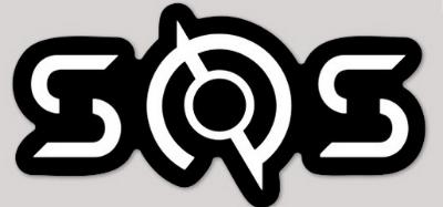 SoS White Logo Sticker