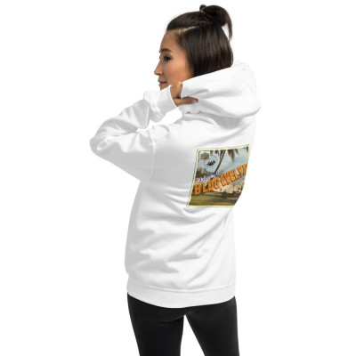Unisex BLDG Evelyn Postcard (Back) Hoodie