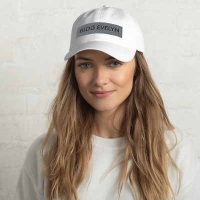 "'BLDG Evelyn"" Logo Dad hat"