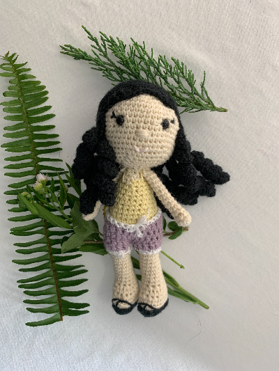 Evelyn Munoz Amigurumi doll - Nukela x BLDG Evelyn collaboration