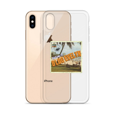 """BLDG Evelyn Postcard Logo"" iPhone Case"