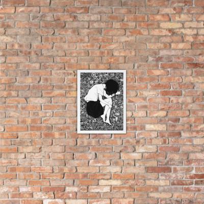 BLDG Evelyn Chapter Artwork Framed poster