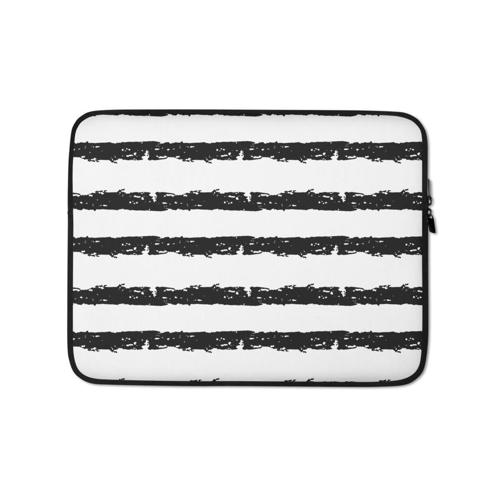 jagged lines Laptop Sleeve
