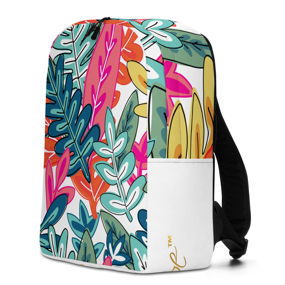 Parrot.Monroe™ Minimalist Floral Backpack