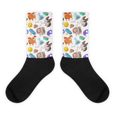 Fun Doggy Unisex Socks