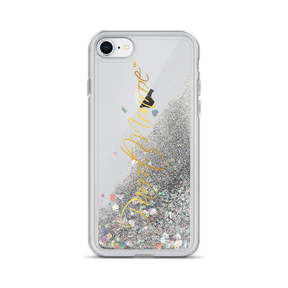 Parrot.Monroe™ Liquid Glitter iPhone Case