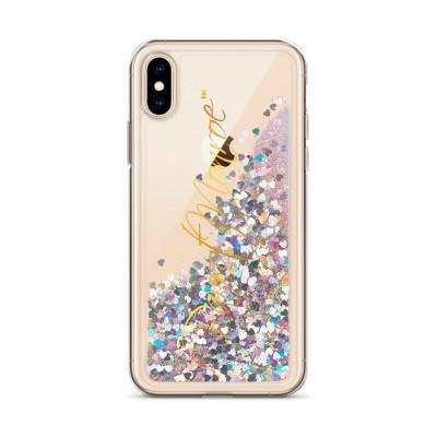Parrot.Monroe™ Liquid Glitter iPhone Case