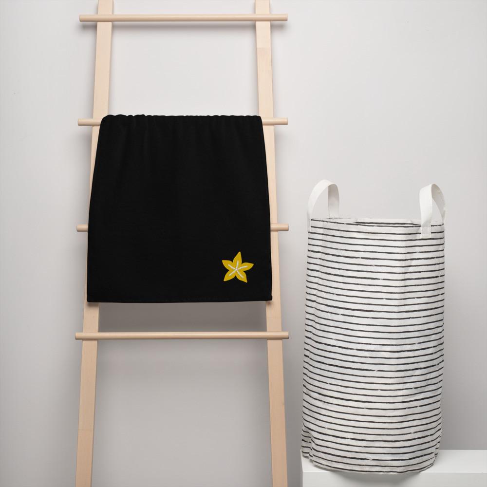 Golden Shell Turkish cotton towel