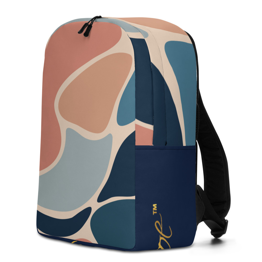 Royal Abstract Minimalist Backpack