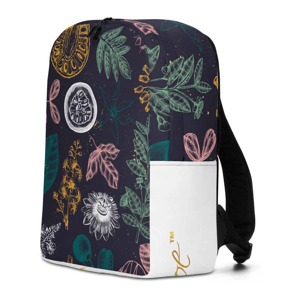Exotic Flora Minimalist Backpack