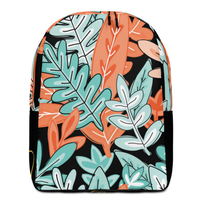 Parrot.Monroe™ Orange Minimalist Backpack