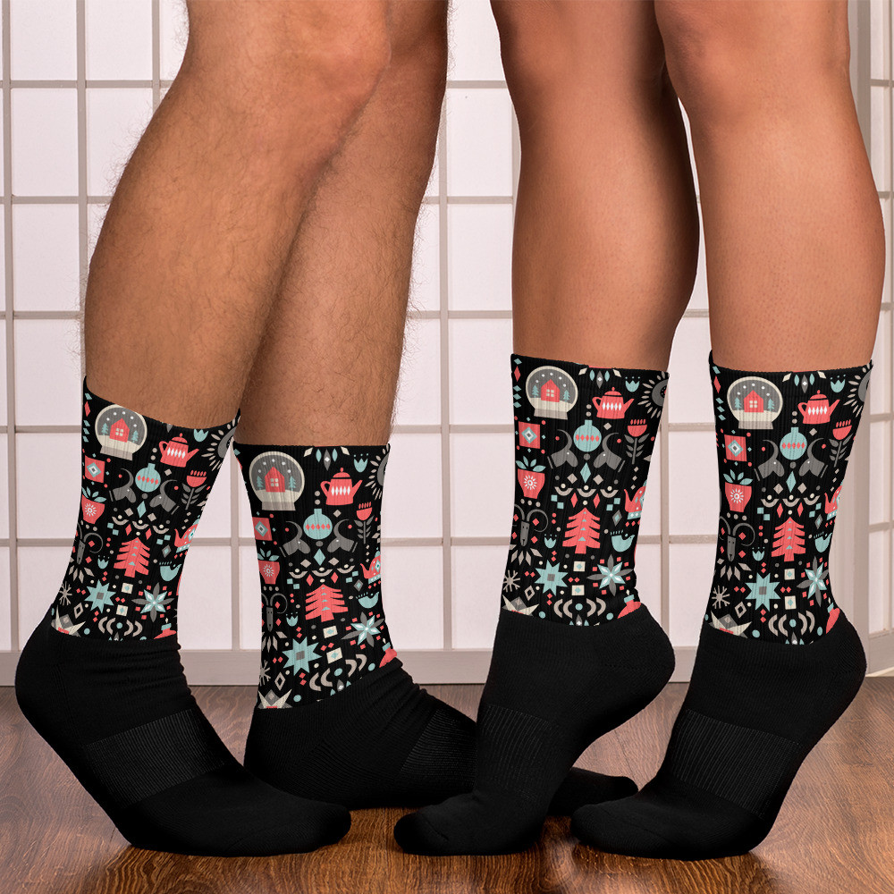 His 'n' Hers Gift Holiday Socks
