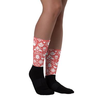 Red Gift Holiday Unisex Socks