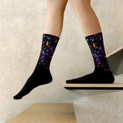 Splatter Unisex Socks