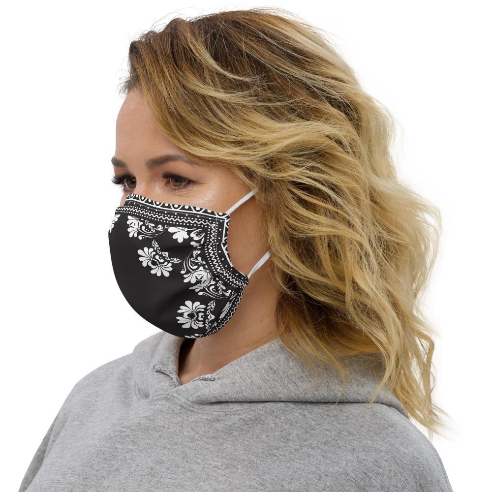 Bandana Parrot.Monroe™ Premium face mask