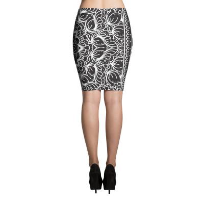 Bandana P.M Pencil Skirt