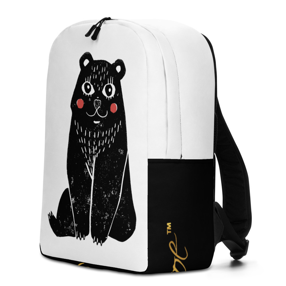 Cute Bear P.M Minimalist Backpack