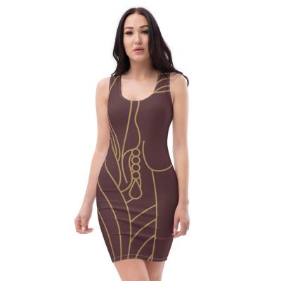 Beauty Art Parrot Monroe™ Sublimation Cut & Sew Dress