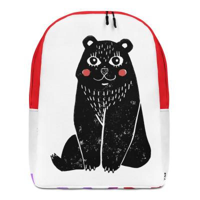 LWN™ Cute School Bear Backpack