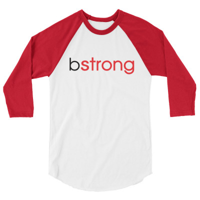 bstrong - 3/4 sleeve raglan shirt