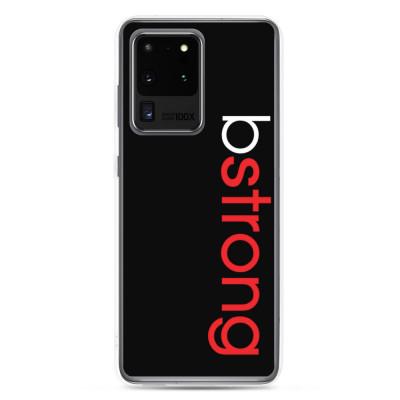bstrong - Samsung Case - Black
