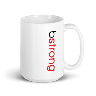Bstrong - White Glossy Mug
