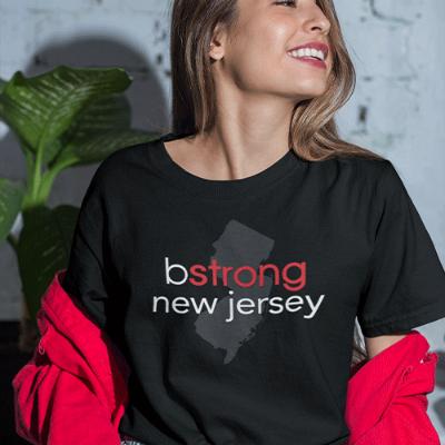 bstrong New Jersey - Short-Sleeve Unisex T-Shirt