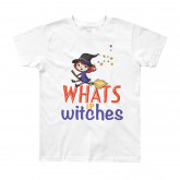 What's Up Witches! Youth Short Sleeve T-Shirt