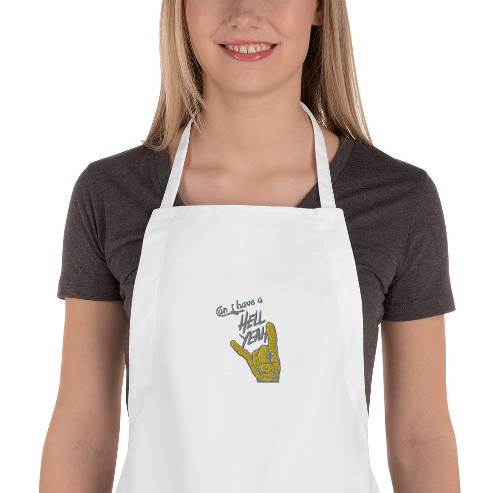 Hell Yeah Clothing™ Embroidered Apron