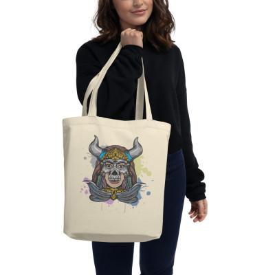 Hell Yeah Graphics™  Skull Mask Eco Tote Bag