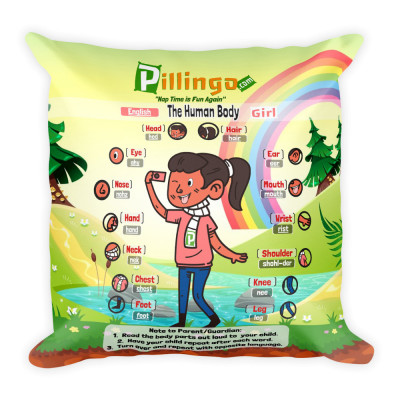 Pillingo Human Body FeMale (Spanish and English)